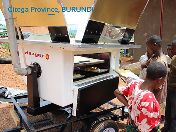 Gitega Province, Burundi – Solar Bakery Project and capacity building