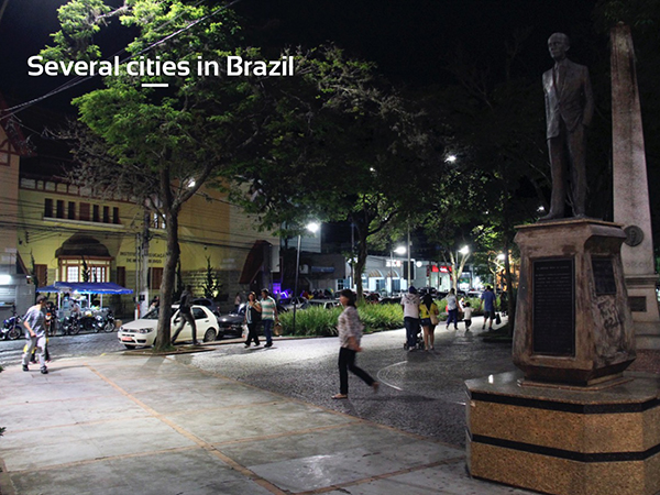 Several cities in Brazil — LED Street Lighting Program