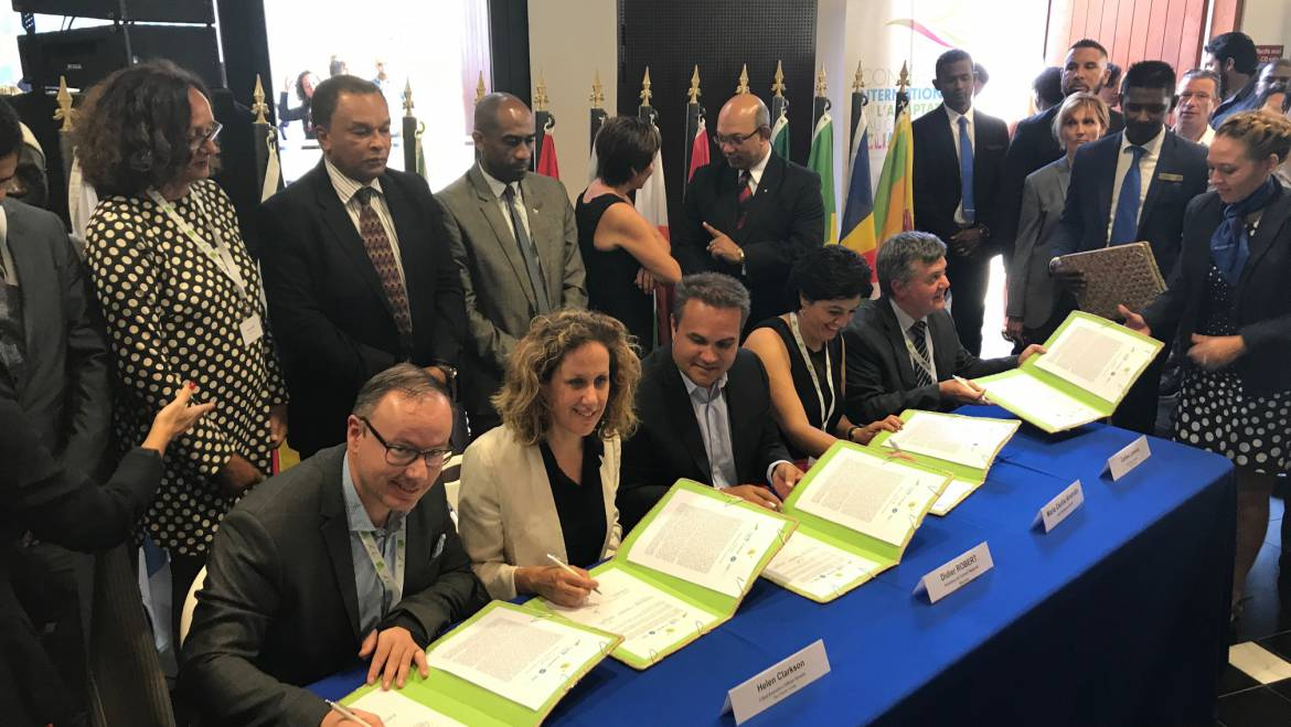 R20 signs the declaration of the International Conference on Climate Adaptation