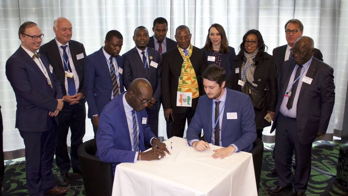 Signature Ceremony with selected African Projects