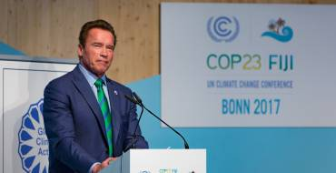 COP23: Schwarzenegger places health at the centre of the climate debate.