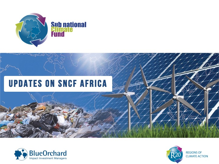 The Sub-national Climate Fund Africa on good tracks for 2018