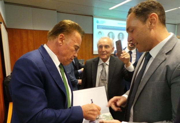 MBA Thesis given the 'sign' of approval by Governor Arnold Schwarzenegger